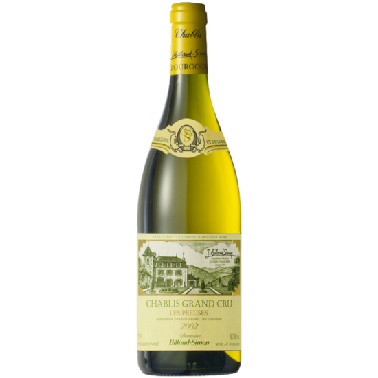 BILLAUD-SIMON CHABLIS GRAND CRU LES PREUSES 2008