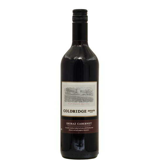 COLDRIDGE ESTATE SHIRAZ CABERNET.
