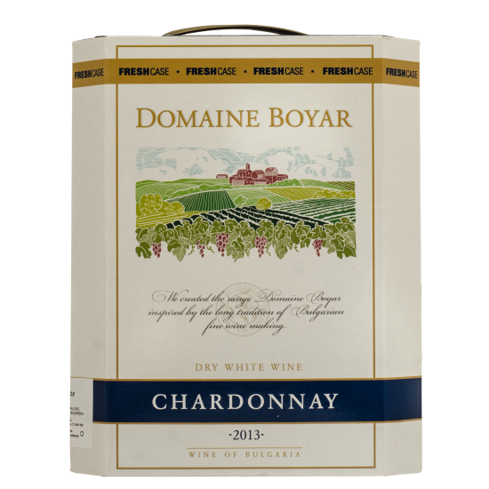 DOMAINE BOYAR CHARDONNAY BAG IN BOX