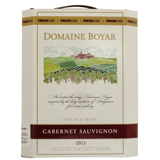 DOMAINE BOYAR CABERNET SAUVIGNON BAG IN BOX