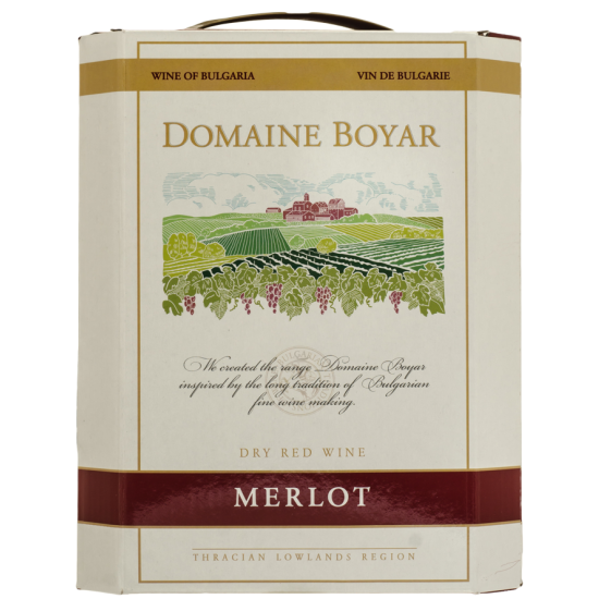 DOMAINE BOYAR MERLOT BAG IN BOX