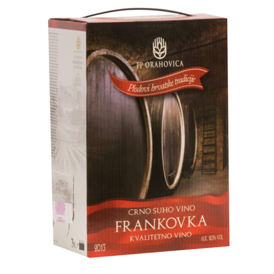 ORAHOVICA FRANKOVKA 3/1 BAG IN BOX KVALITETNA